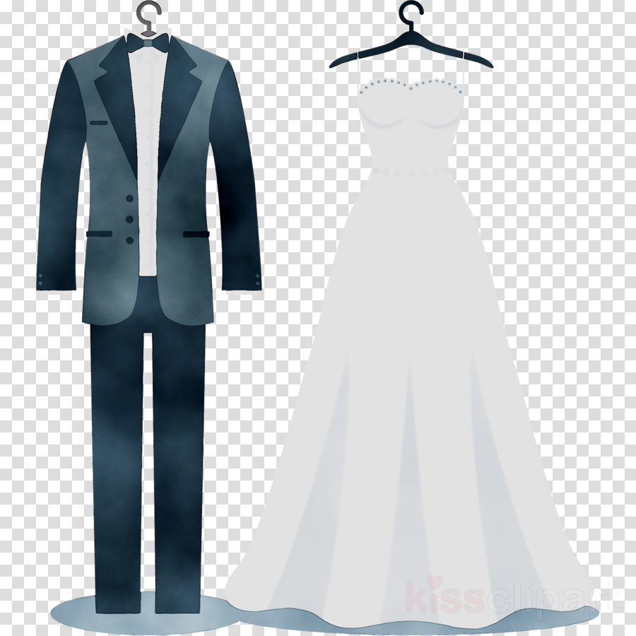 Wedding Suit clipart.