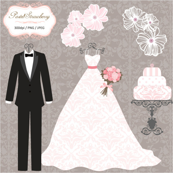 Luxury Wedding Dress & 2 Tuxedos Personal Or By.