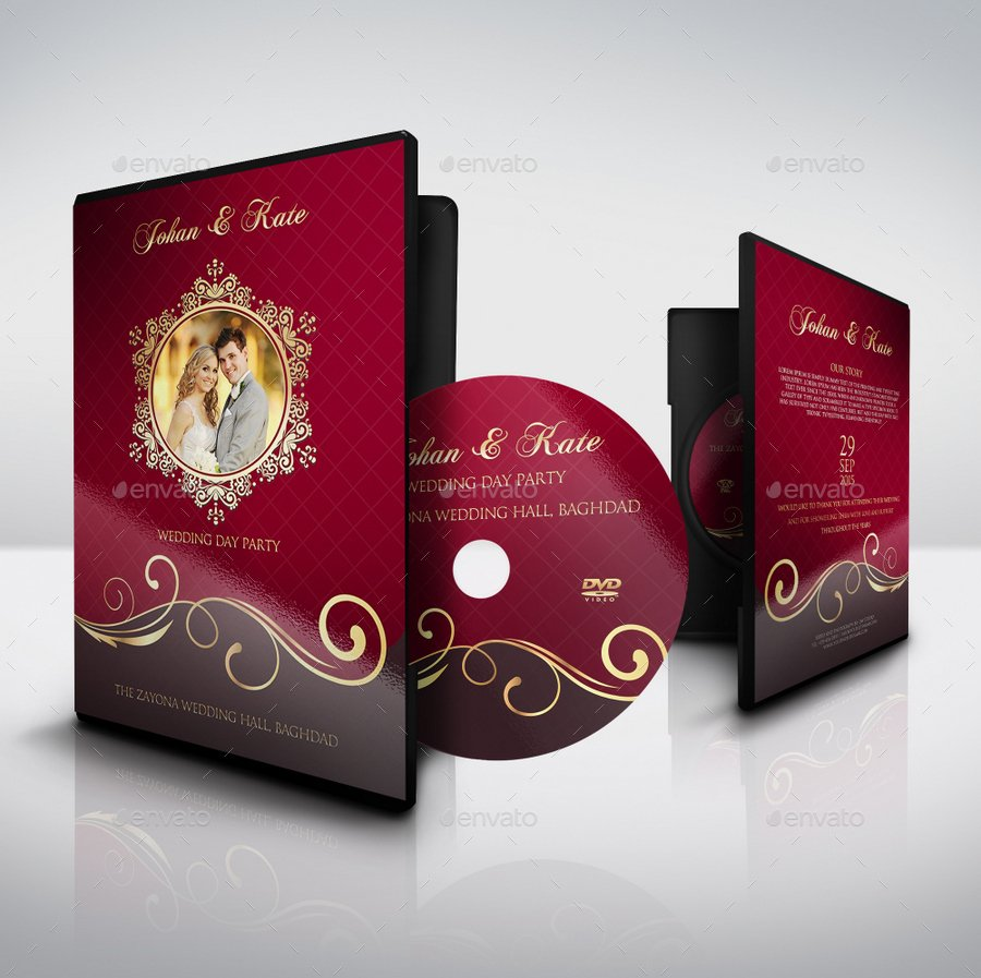 Wedding CD/DVD Cover.