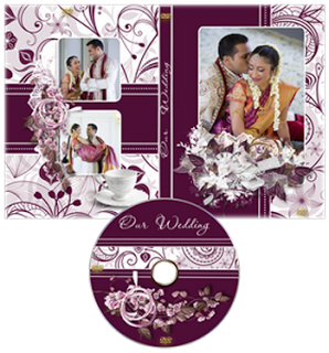Wedding DVD Cover Template Psd Free Download in 2019.