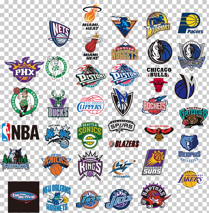 Nba team logo , NBA team logos PNG clipart.