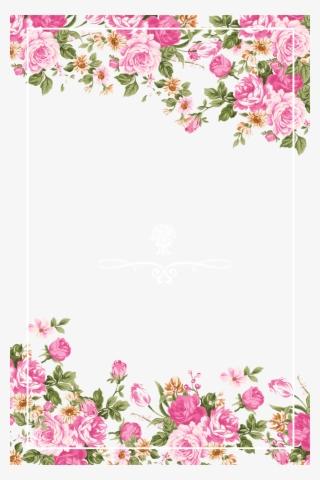 Wedding Flowers Border PNG, Transparent Wedding Flowers.