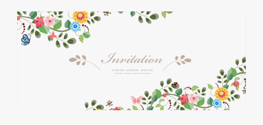 Wedding Invitation Flower Euclidean Vector.