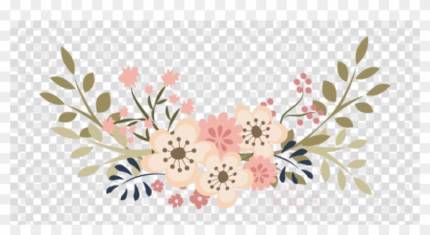 Lavender Floral Wreath Clipart Floral Design Wedding.