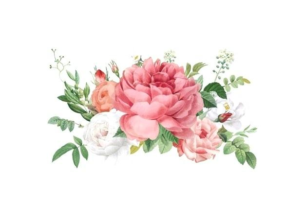 wedding flowers vector.