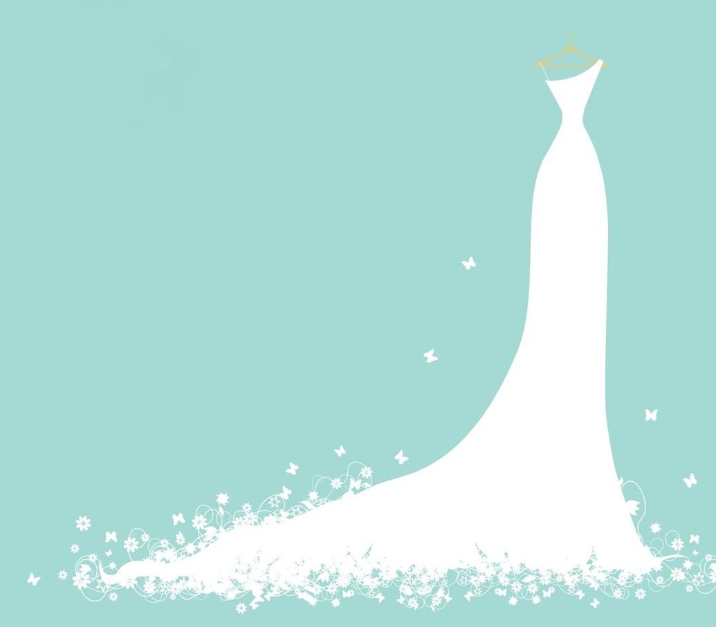 Free bride silhouette clipart.