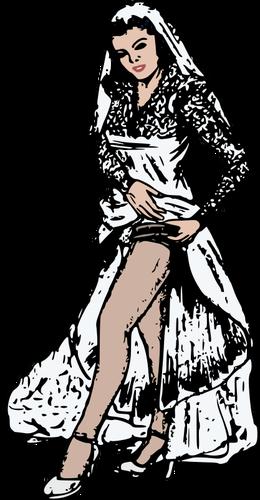 Wedding garter.