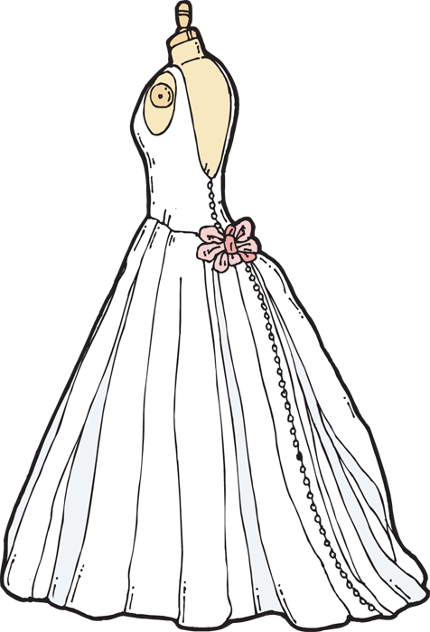 28+ Wedding Dress Clip Art.
