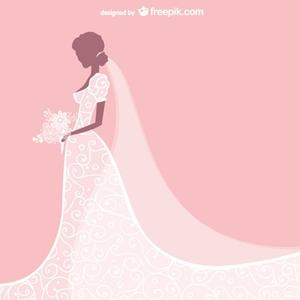 Free Wedding Dresses Clipart.