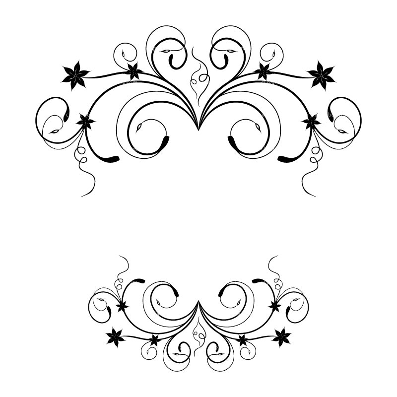 Floral clipart flower wedding graphics clip image 3.