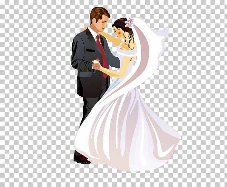 Wedding invitation Bridegroom Marriage, Bride and groom.