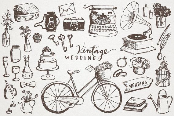 Wedding Clipart Hand.