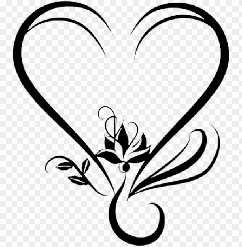 dark, heart, wedding png transparent png images.