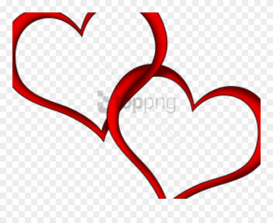 Free Png Wedding Heart Png Image With Transparent Background.