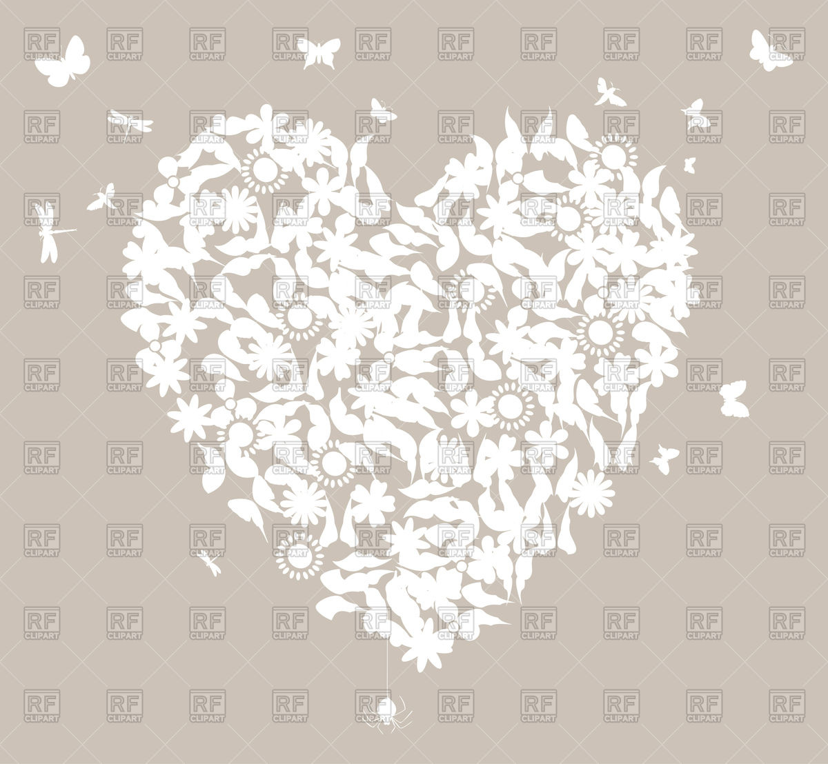 Wedding Heart Clipart Free Gray Clipground