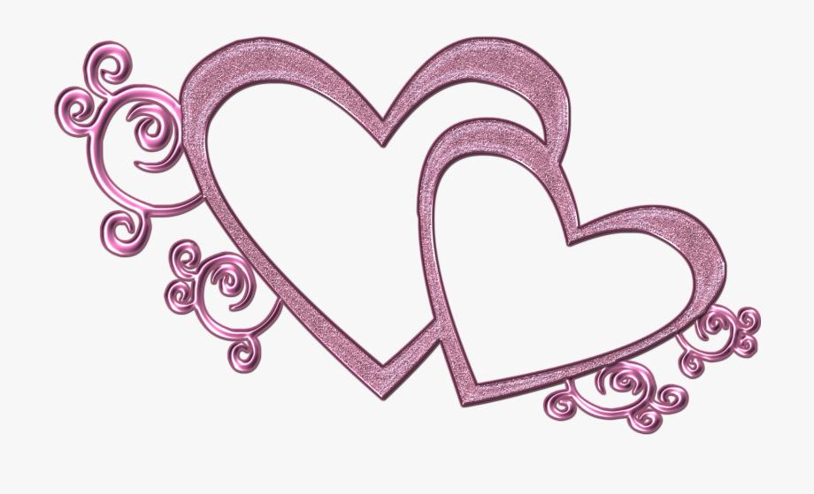 Pink Wedding Heart Clipart , Transparent Cartoon, Free.