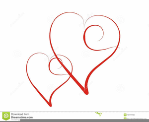 Wedding Hearts Clipart.