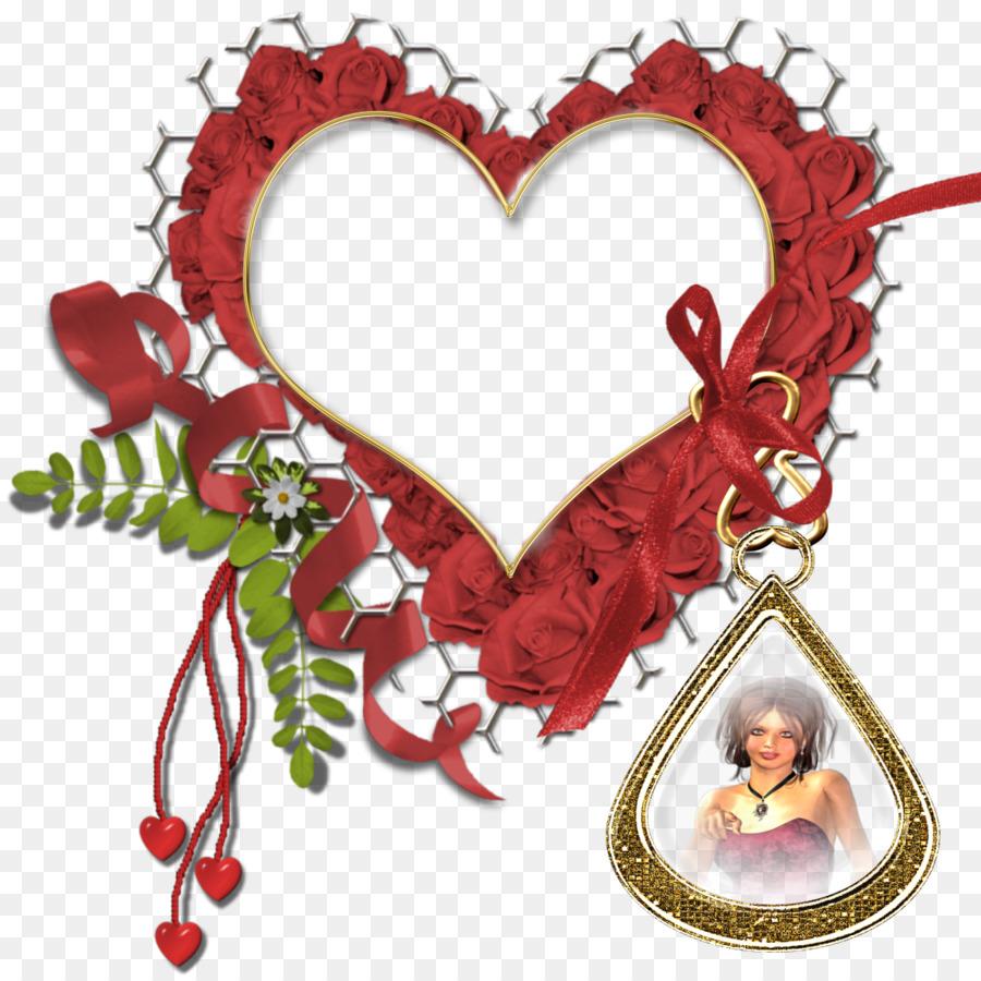 Wedding Heart Frame clipart.