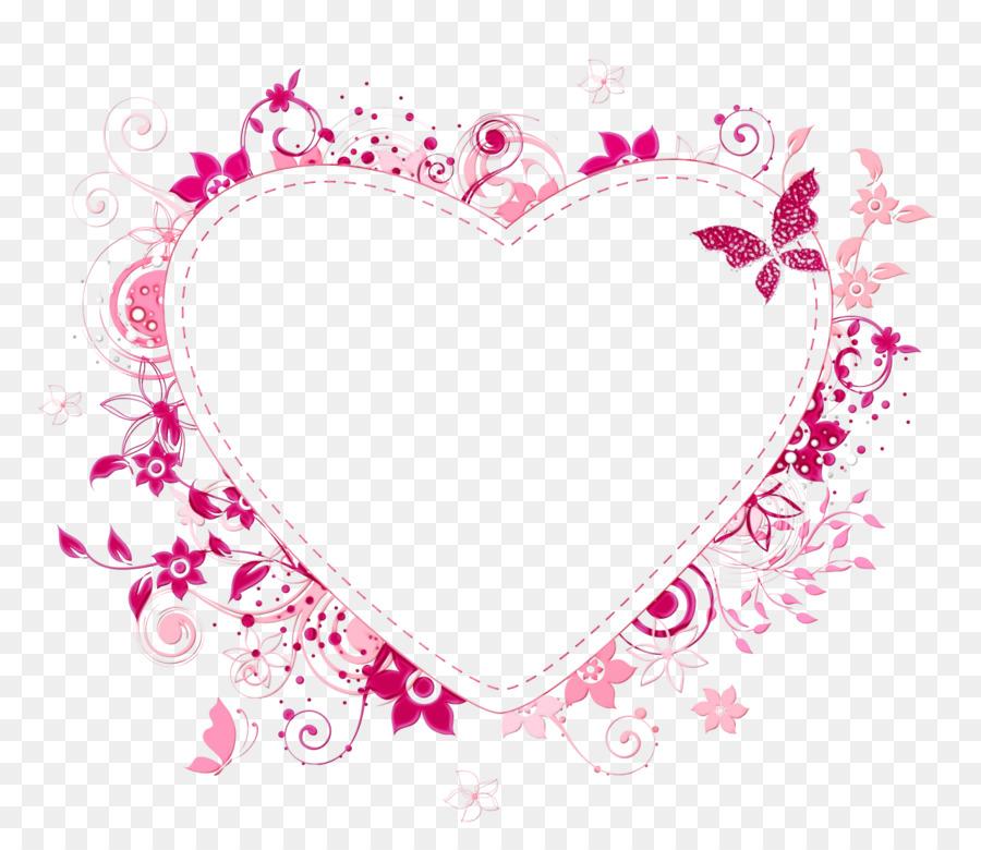 Wedding Heart Frame.