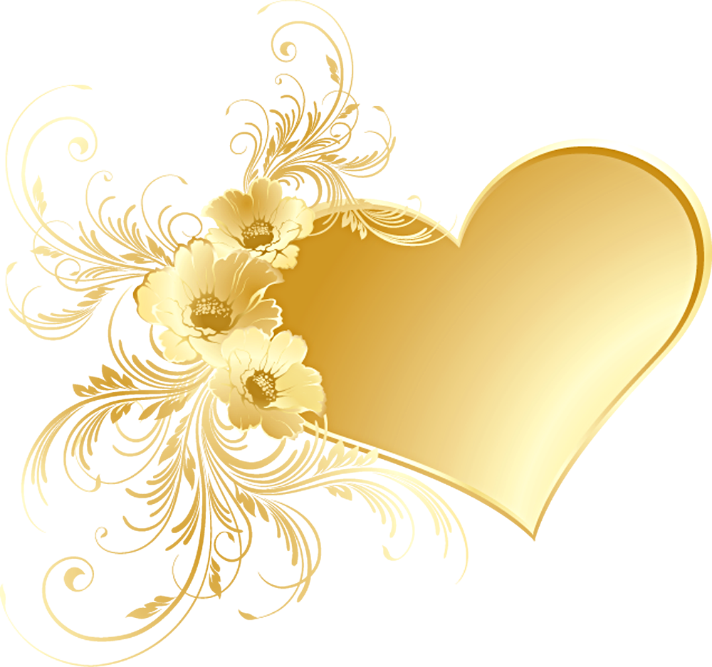 Free GOLD HEART, Download Free Clip Art, Free Clip Art on.