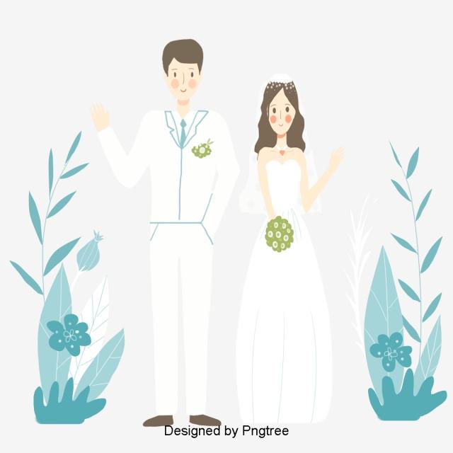 Fresh And Romantic Hand Painted Groom Bridegroom Wedding.