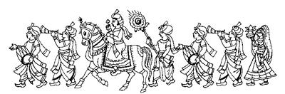 Indian Wedding Doli Clipart Images.