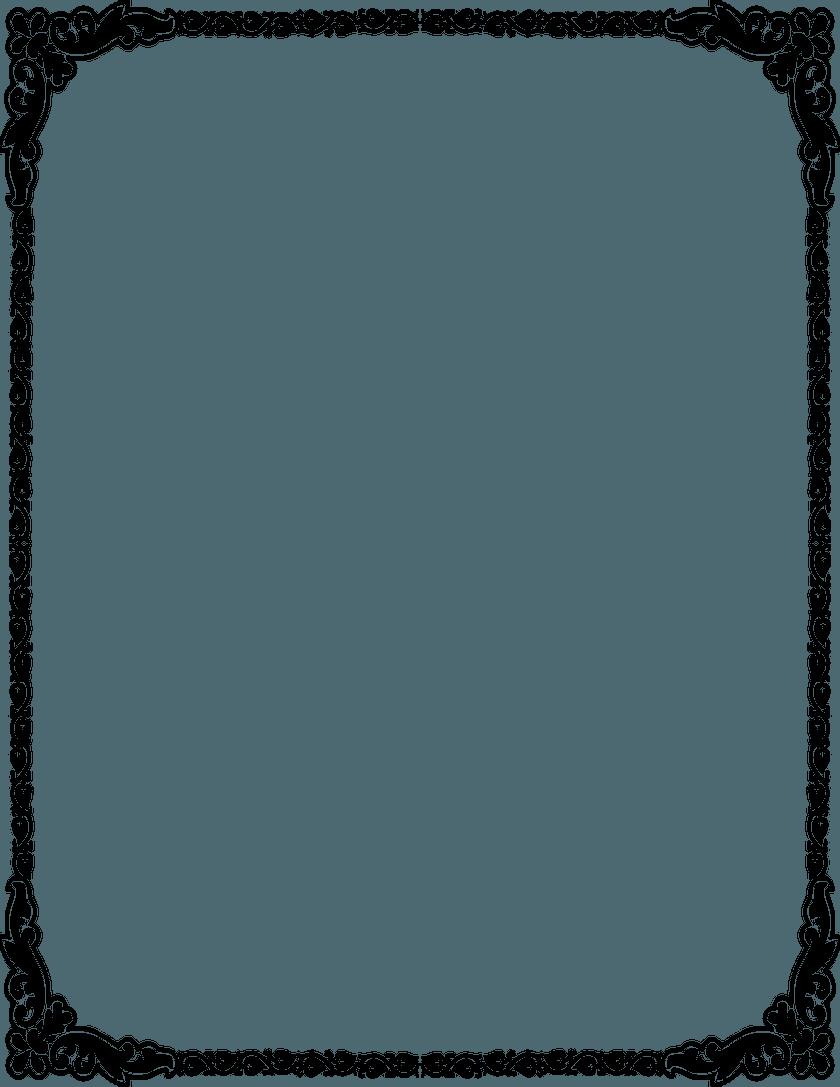 Invitation Card Border Png. Invitation Borders Clipart Clipart Kid.