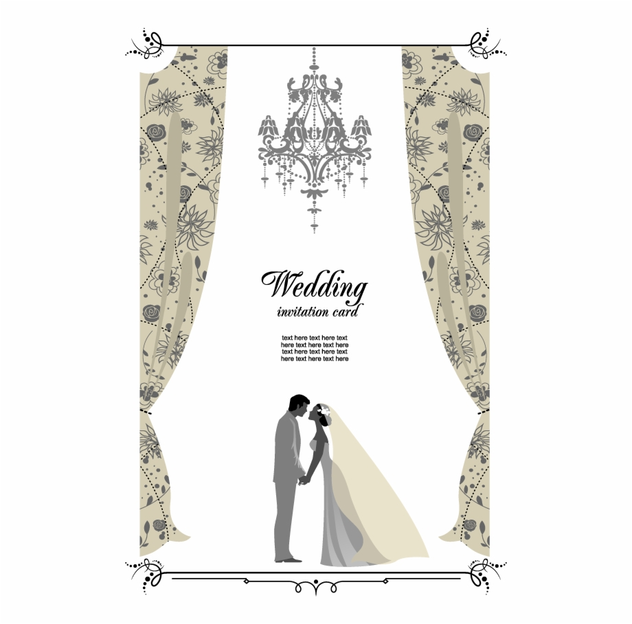 Wedding Set Up Vector Free Download.