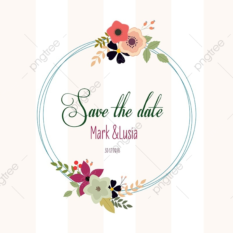 Wedding Invitation Card Save The Date, Wedding, Invitation.