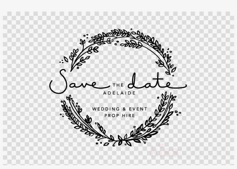 Download Save The Date Png Clipart Wedding Invitation.