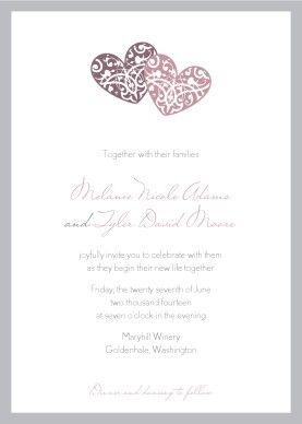 wedding invitation template clipart.