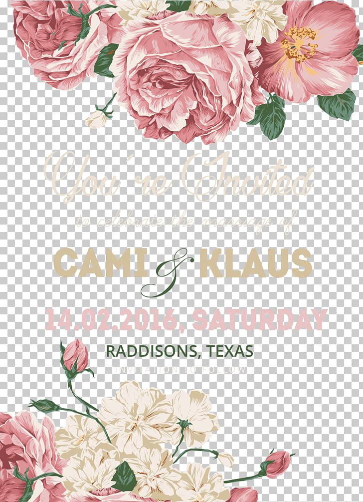 Wedding invitation Flower, Wedding Invitations template.