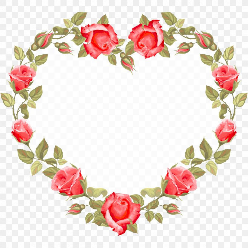 Wedding Invitation Flower Heart Clip Art, PNG, 1200x1200px.