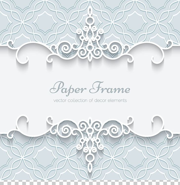 Paper Wedding Invitation Lace Ornament PNG, Clipart, Border.