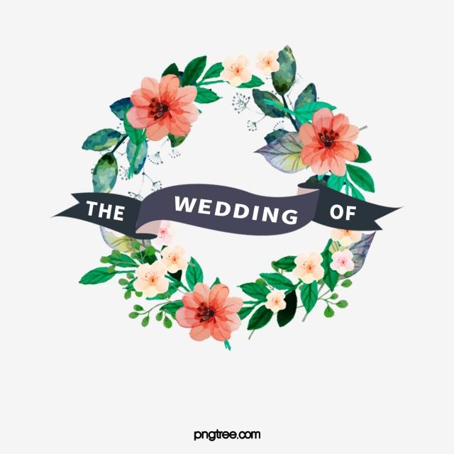 Floral Wedding Invitations, Wedding Clipart, Flowers.