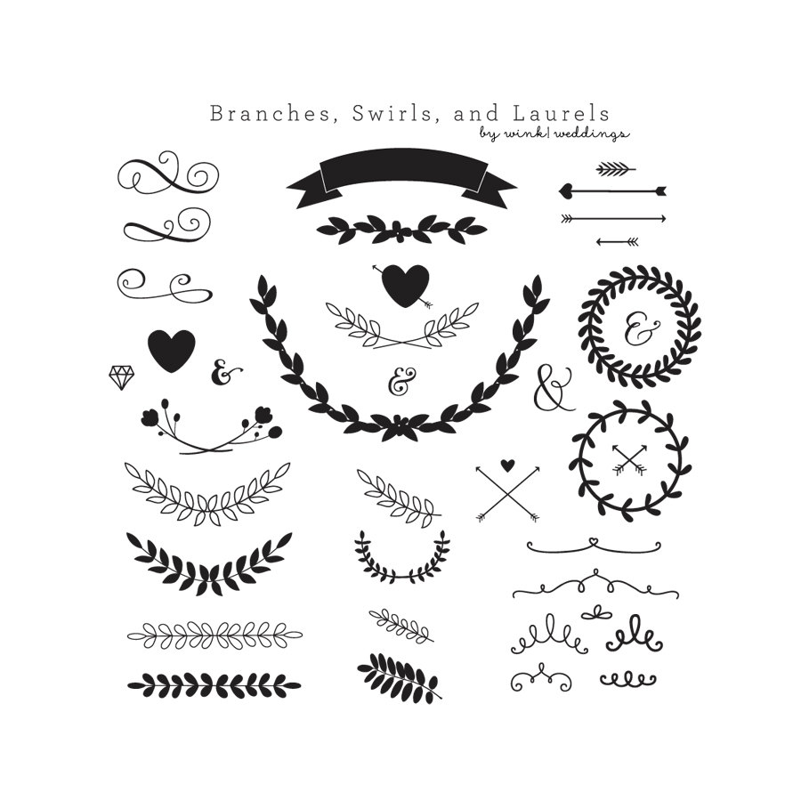 16+ Wedding Invitation Clipart.