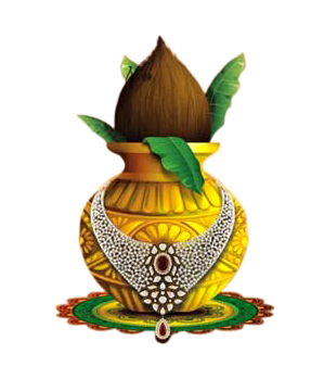 Kalash png image free download with Transparent Backgound.