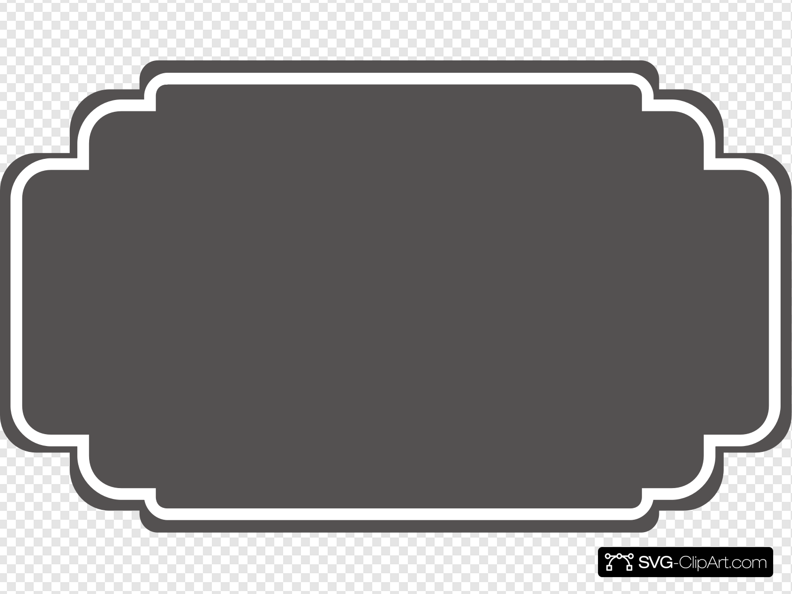 Grey Wedding Label Clip art, Icon and SVG.