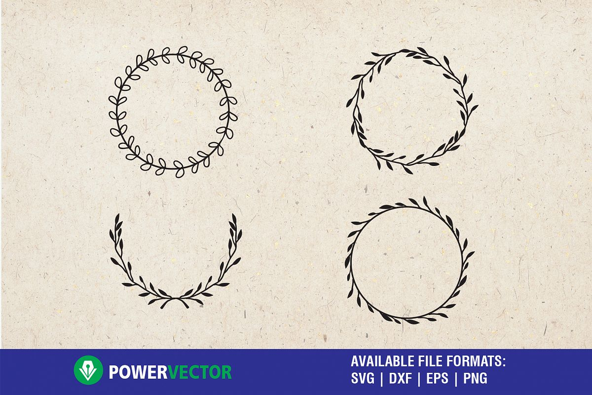 Laurel wreath svg.
