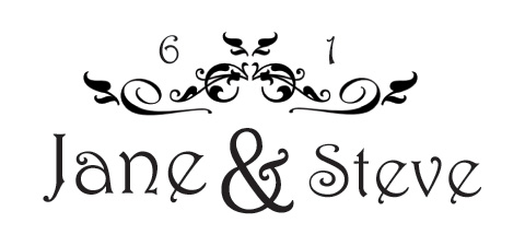Design Your Own Wedding Logo or Monogram.