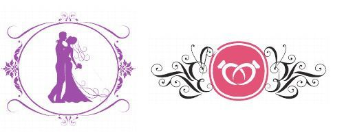 Design Your Own Wedding Logo Today.