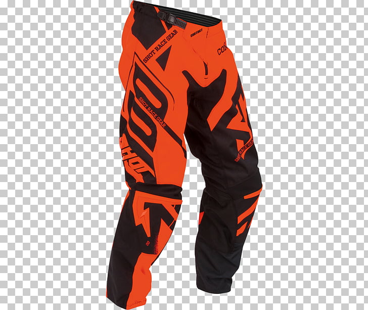 Pants Clothing Motorcycle Blue Yellow, orange cross PNG.