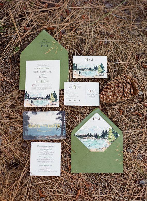 1000+ ideas about Mountain Wedding Invitations on Pinterest.