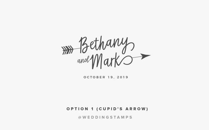 design a signature style wedding logo.