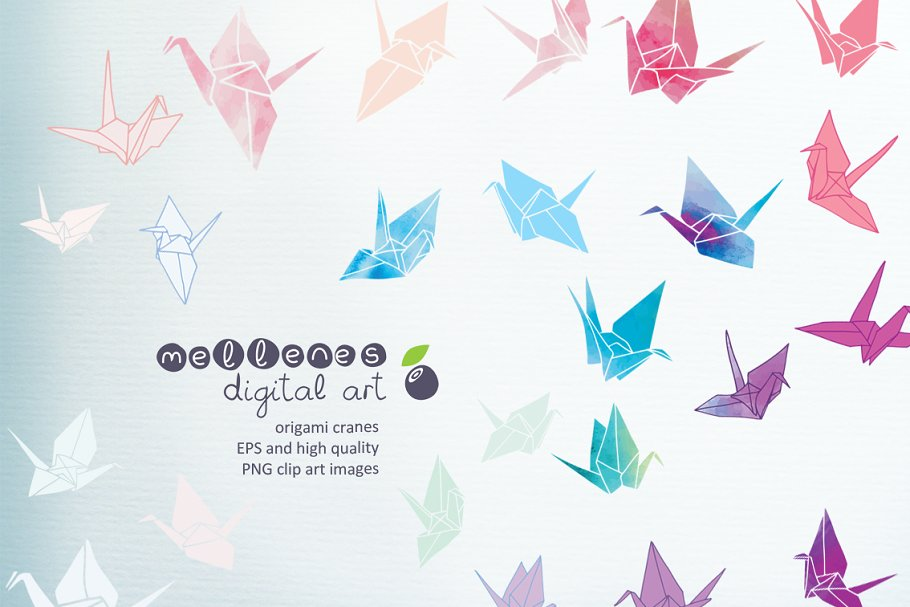 origami cranes.