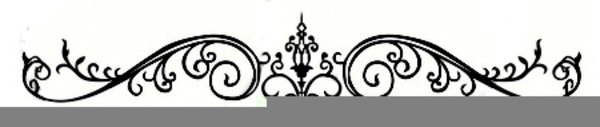 Wedding Page Divider Clipart.