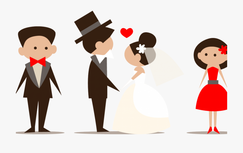 Png Download Wedding Party Clipart.