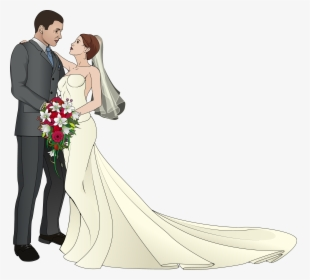 Wedding Couple Clipart PNG Images, Transparent Wedding.