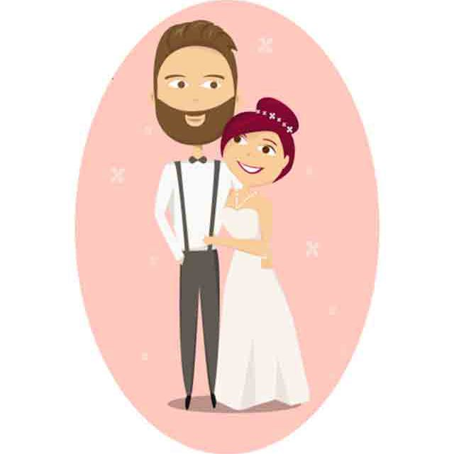 9 Places to Download Free Wedding Clipart.