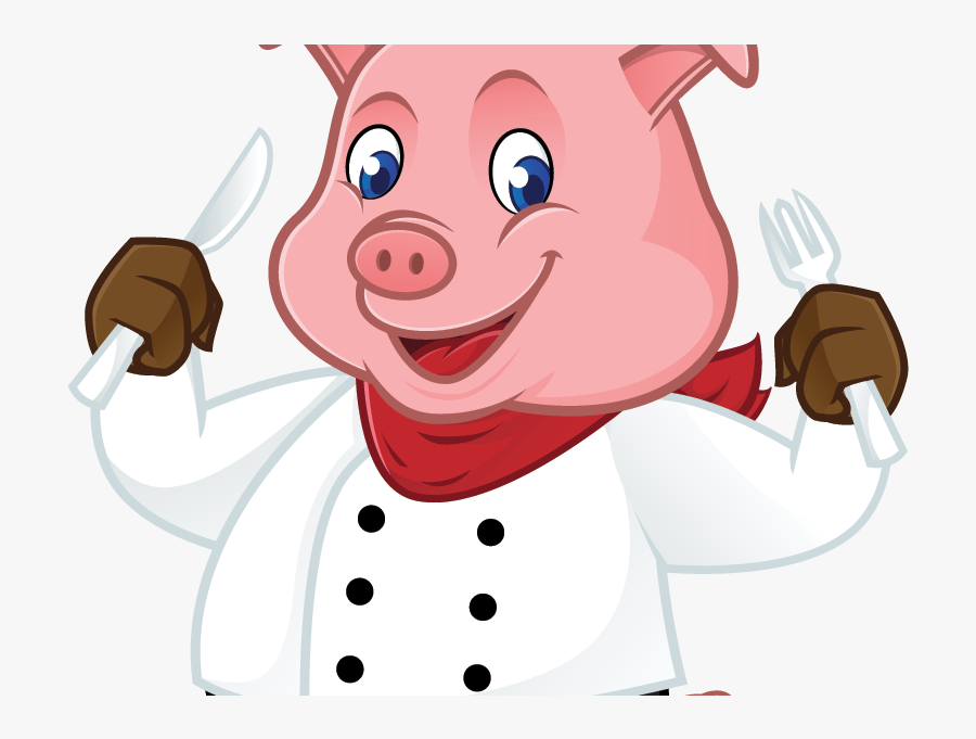 Chef Pig Clipart Png , Png Download.